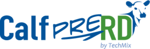 Calf PreRD logo by TechMix